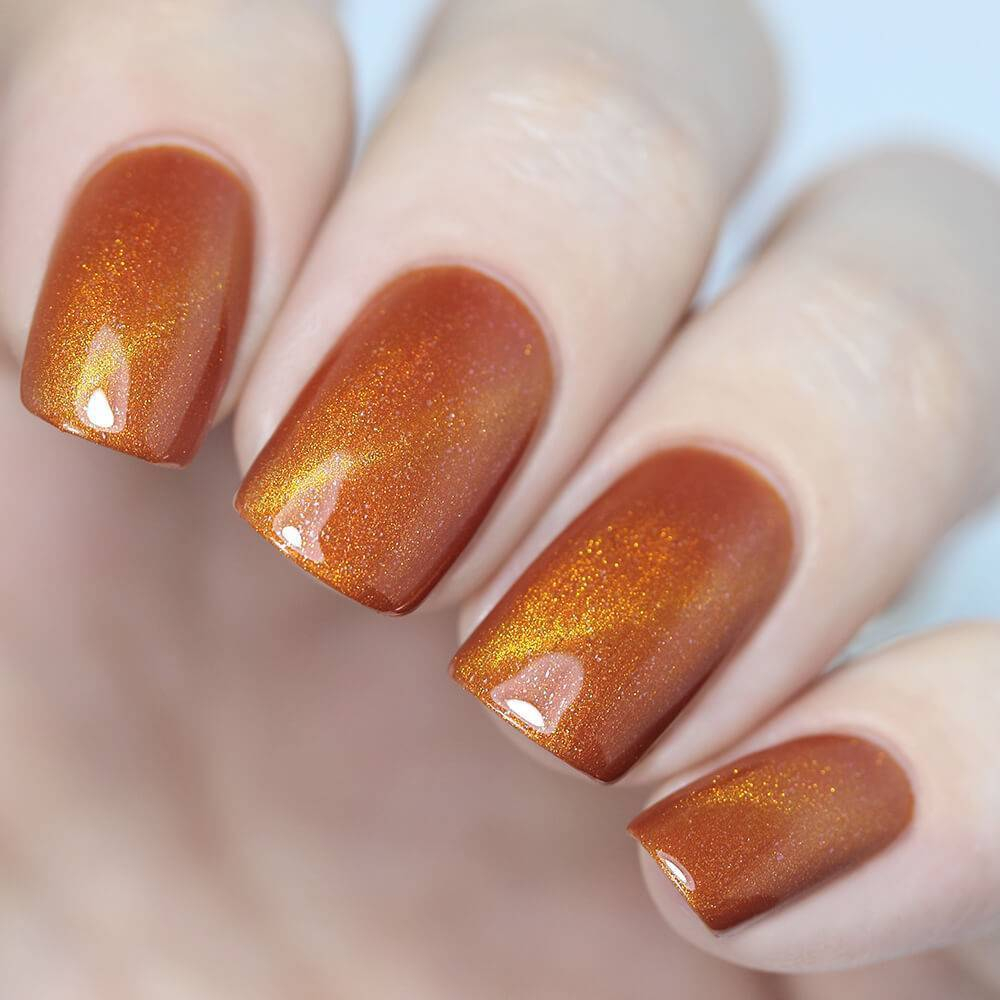 Лак для ногтей Мандариновая Уточка, 3,5 мл