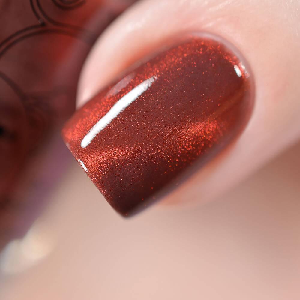 Лак для ногтей Дымчатый Коралл, 11 мл - превью