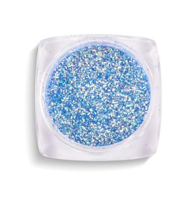 Глиттер «Битое стекло» голубой, 2 гр, 974