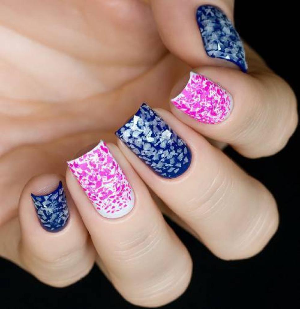 Блестки для дизайна ногтей Перламутровая Слюда, 2 гр - превью
