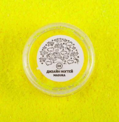 Блестки для дизайна ногтей Лимонные Осколки, 2 гр, 980-08