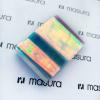 Прозрачная фольга для объемного дизайна, голубой-розовый - превью