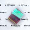 Прозрачная фольга для объемного дизайна, розовый-золотой - превью