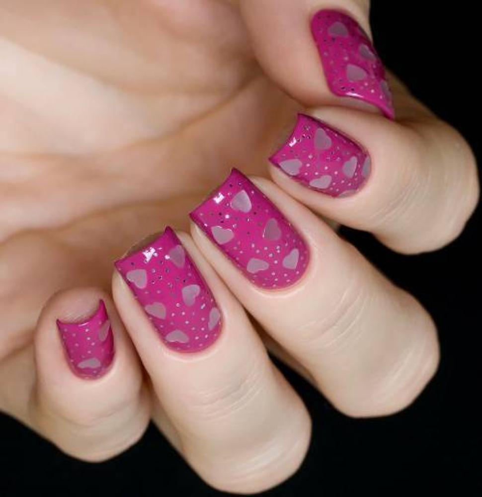 Блестки для дизайна ногтей Французское Серебро, 2 гр - превью