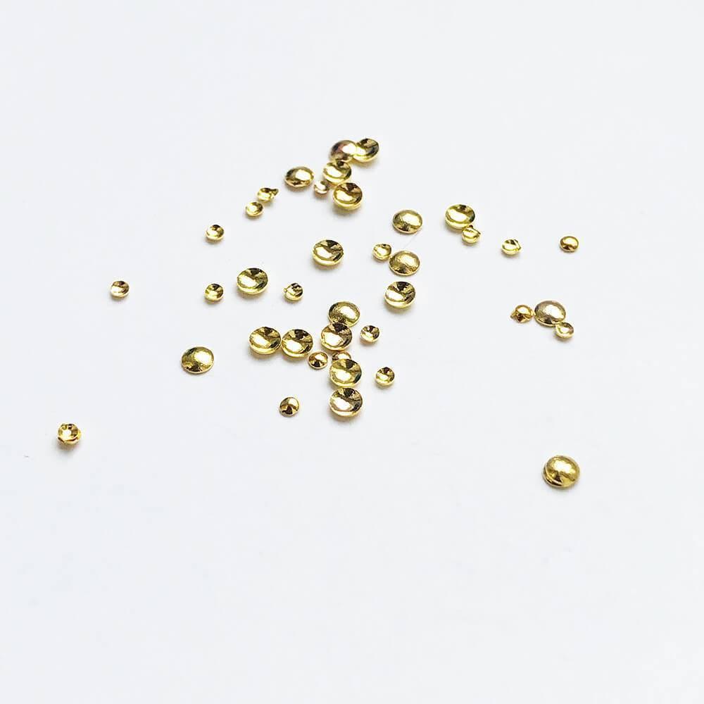 Металлические украшения для ногтей, Капельки