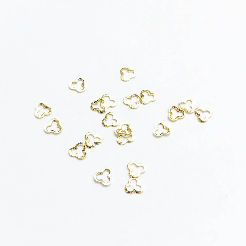 Металлические украшения для ногтей, Трилистник