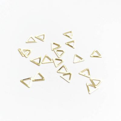 Металлические украшения для ногтей, Треугольники, 980-90