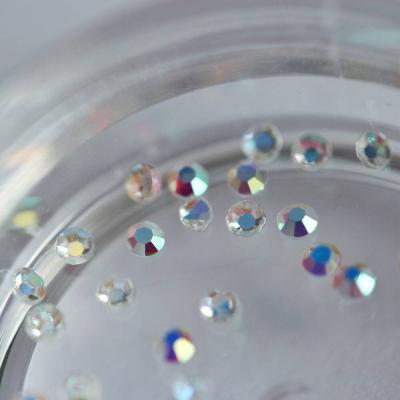 Стразы стеклянные, аврора SS3, 980-91