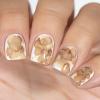 Акварельные капли для дизайна на гель-лаке, розовое золото, 3,5 мл - превью