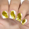Акварельные капли для дизайна на гель-лаке, яркое золото, 3,5 мл - превью