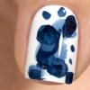 Акварельные капли для дизайна на гель-лаке, синий кобальт, 3,5 мл - превью