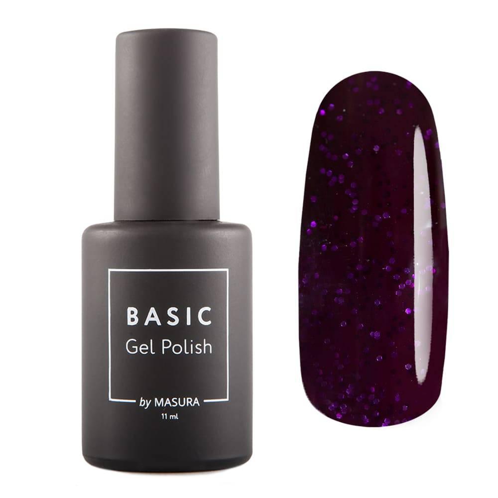 Гель-лак BASIC Пурпурные Чернила, 11 мл