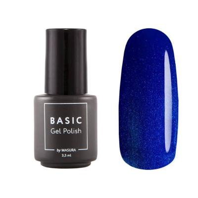 Гель-лак BASIC Синяя Классика, 3,5 мл, B043M