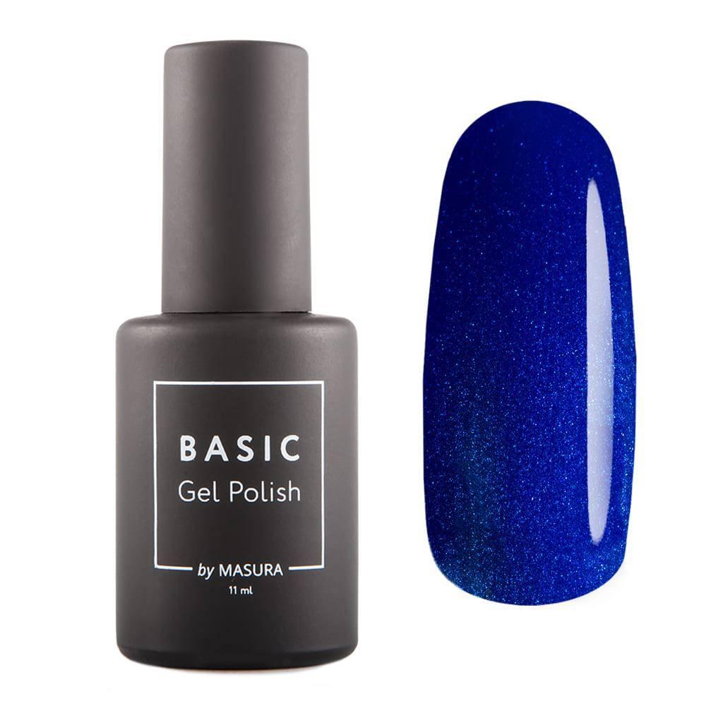 Гель-лак BASIC Синяя Классика, 11мл