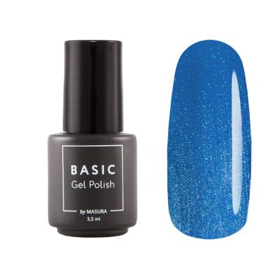 Гель-лак BASIC Джинсовый Голубой, 3,5 мл, B049M