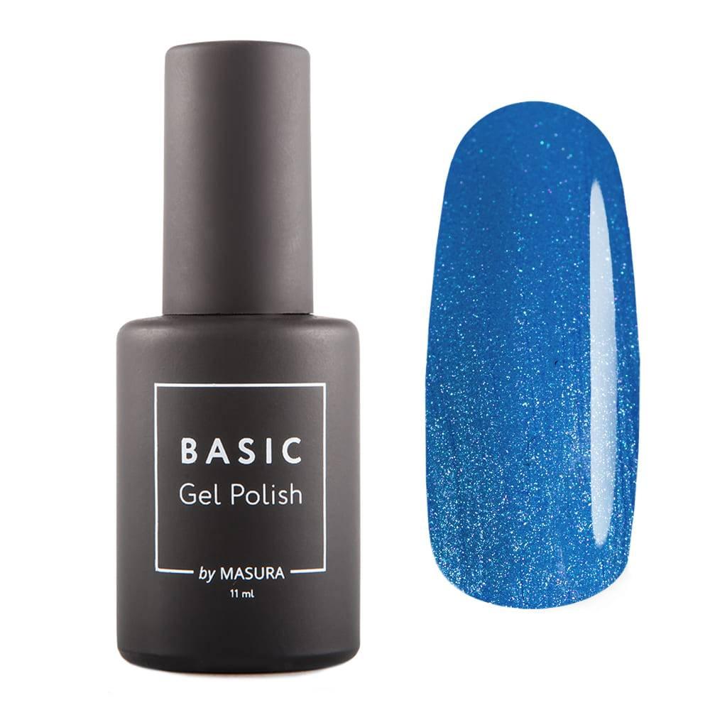 Гель-лак BASIC Джинсовый Голубой, 11 мл