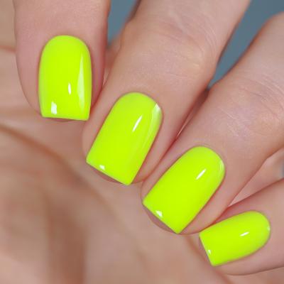 Гель-лак BASIC Желтый Неон, 11 мл, B115S
