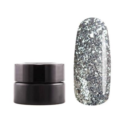 Декоративная гель-краска, Бриллиантовое Серебро, 5 гр, G17