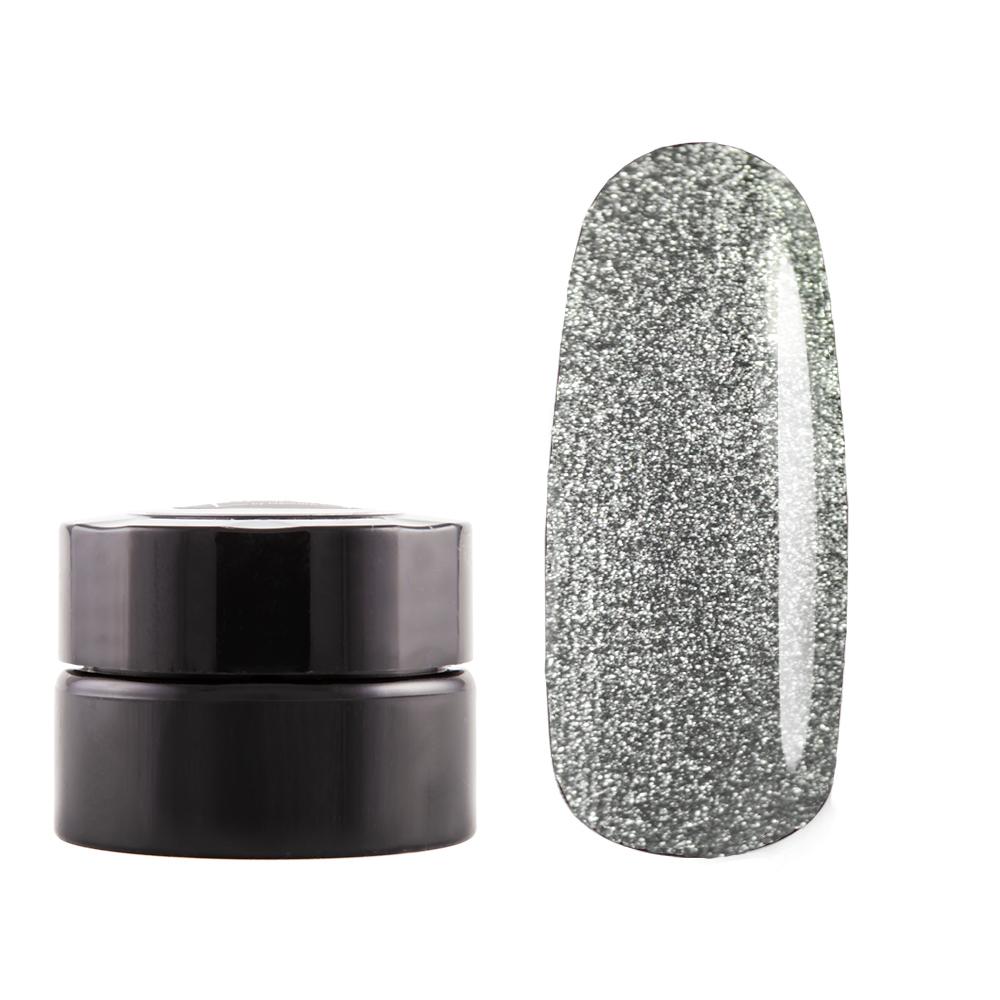 Краска для дизайна 3D, металлическое серебро, 5гр