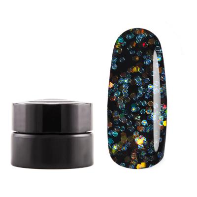 Гель-краска с иридисцентным глиттером Опаловая Призма, 5гр, G21