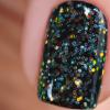 Гель-краска с иридисцентным глиттером Опаловая Призма, 5гр - превью