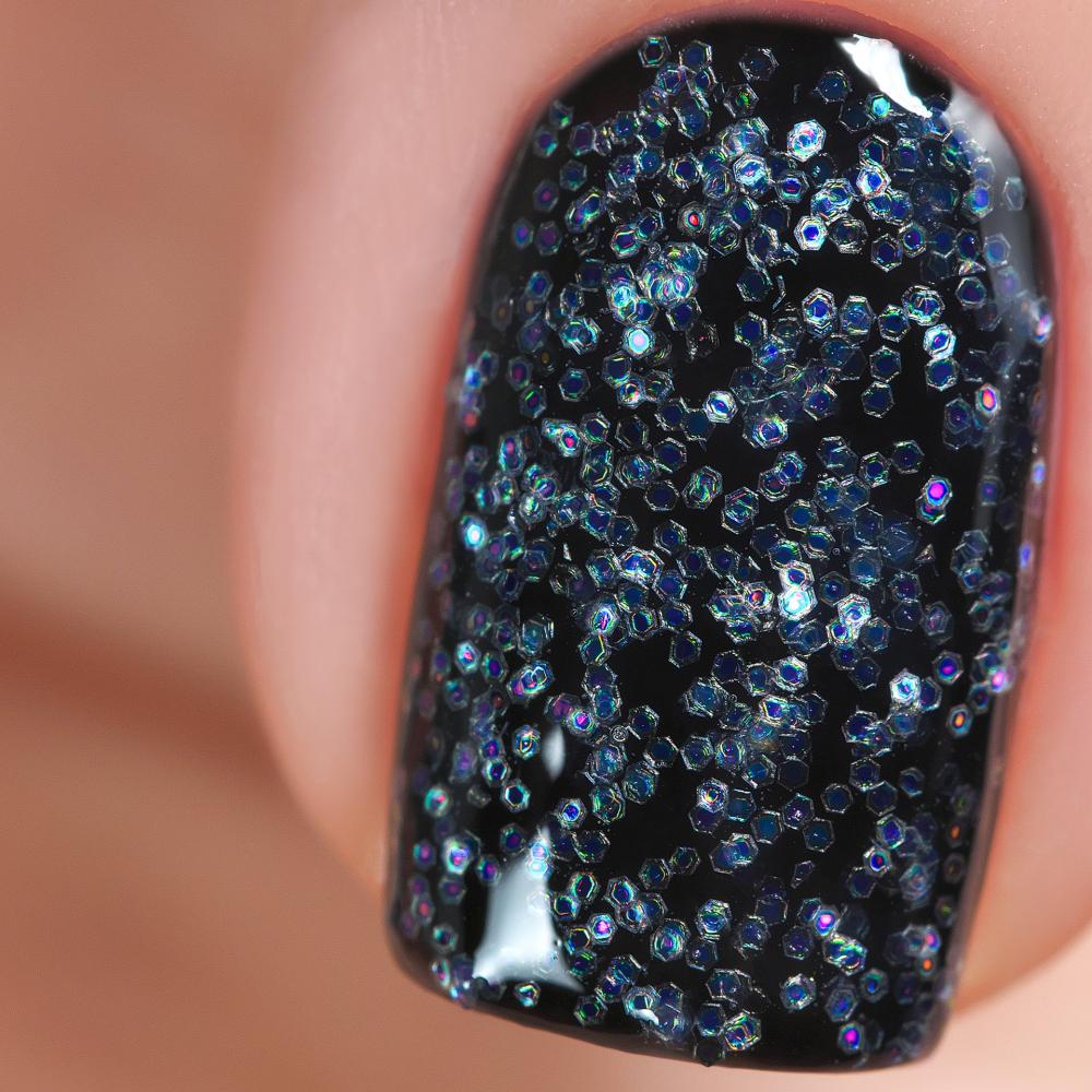 Гель-краска с иридисцентным глиттером Лунный Камень, 5гр - превью