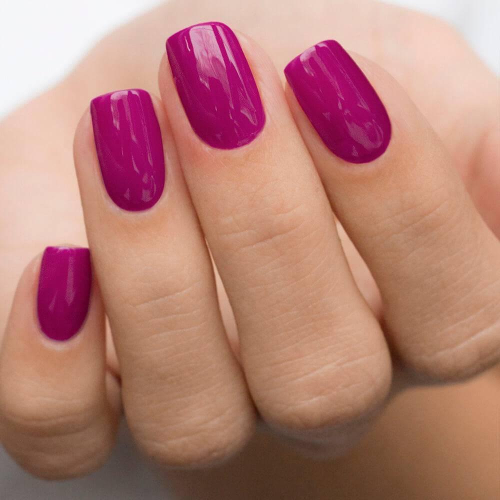 Гель-лак MASU MASU Пурпурный, 3,5 мл - превью