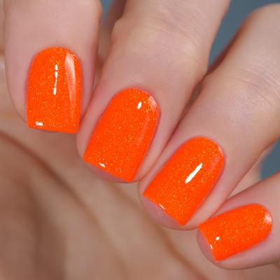Гель-лак Красный Апельсин, 11 мл, O43S