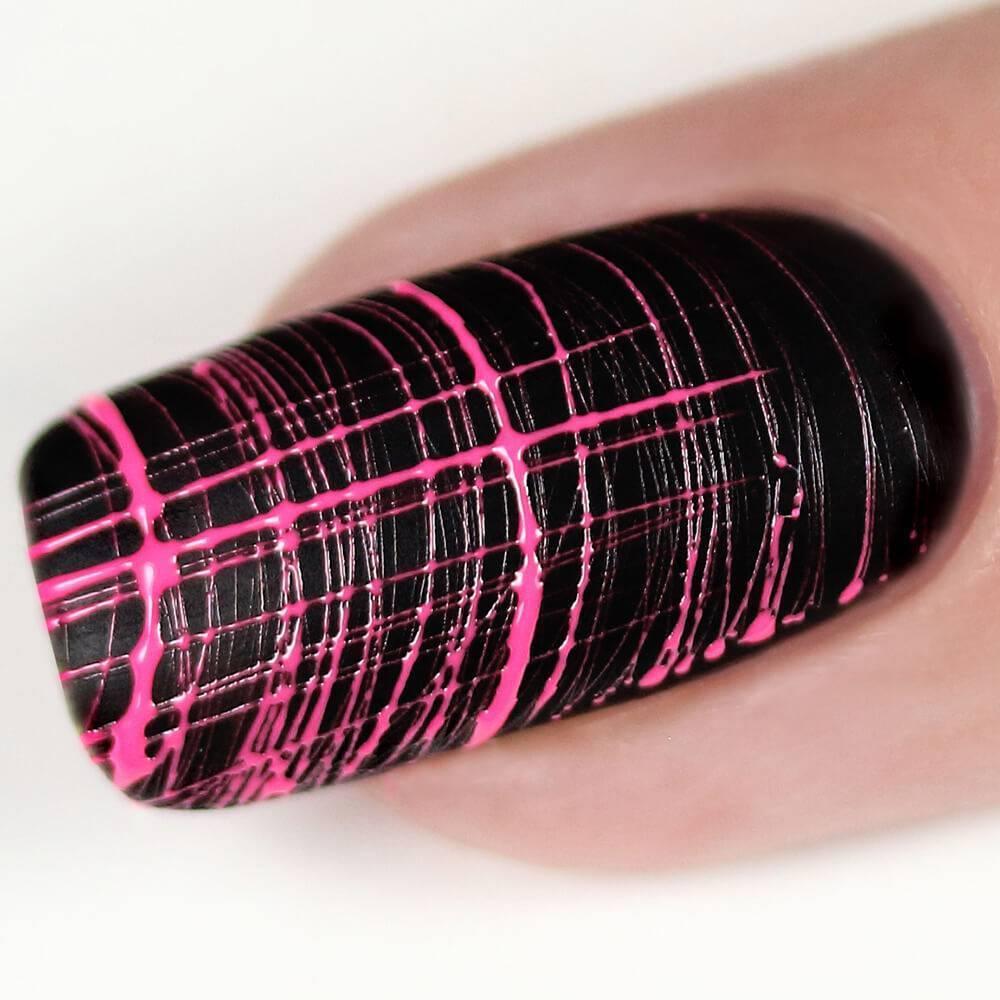 Гель-лак Паутинка, розовый неон, 5 гр - превью
