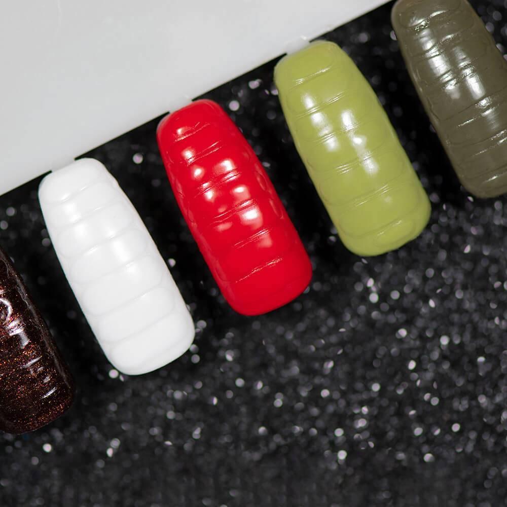 Прозрачная гель-краска для создания кожаного эффекта на ногтях, 5 гр - превью