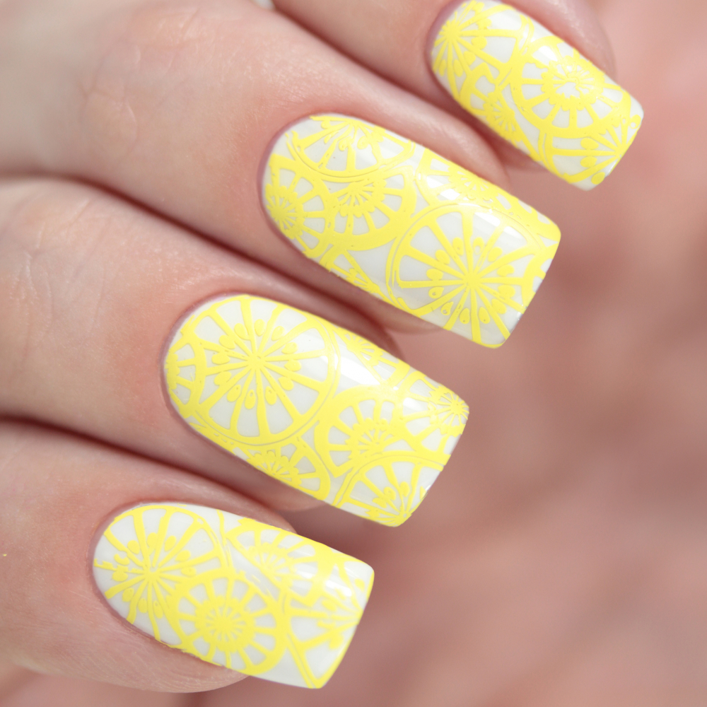 Лак для стемпинга Лимонный Фреш, 6,5 мл - превью
